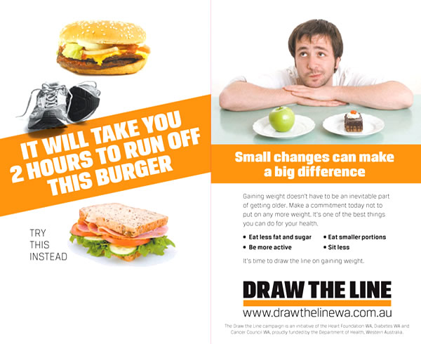 Draw the Line on Gaining Weight